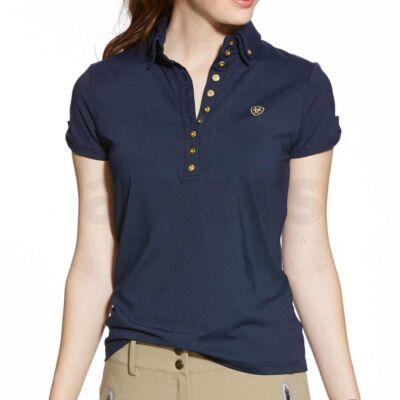 Ariat Marquis Polo Navy női póló ( XS )